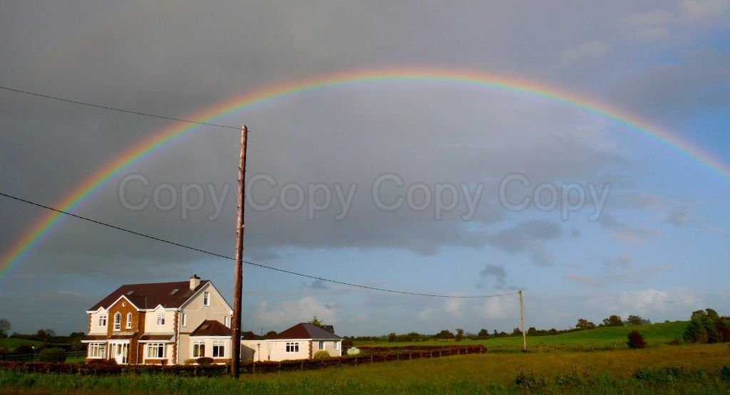 Rainbow County Mayo Ireland