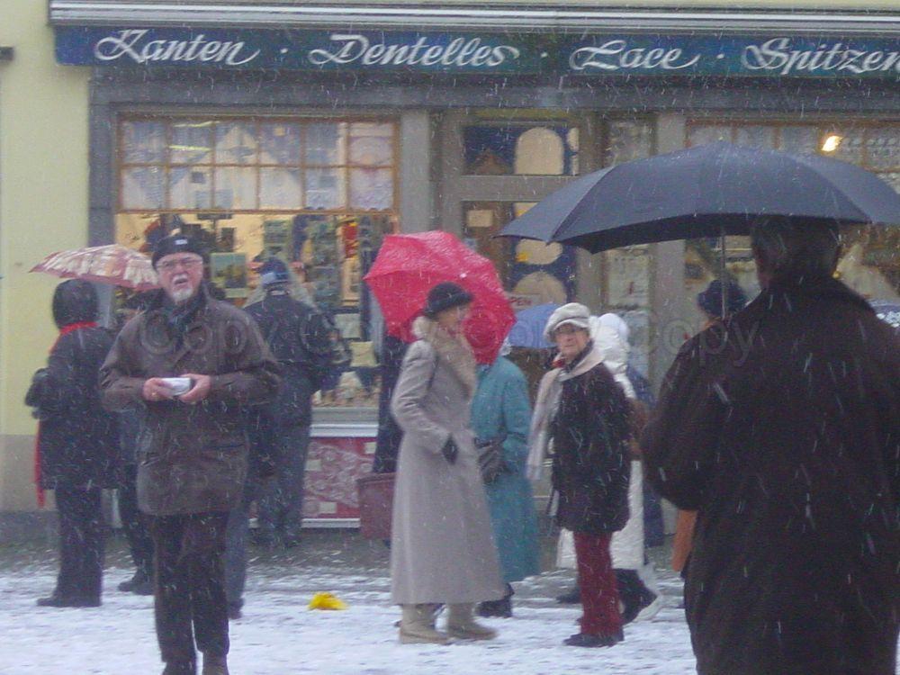Shoppers Bruges Belgium