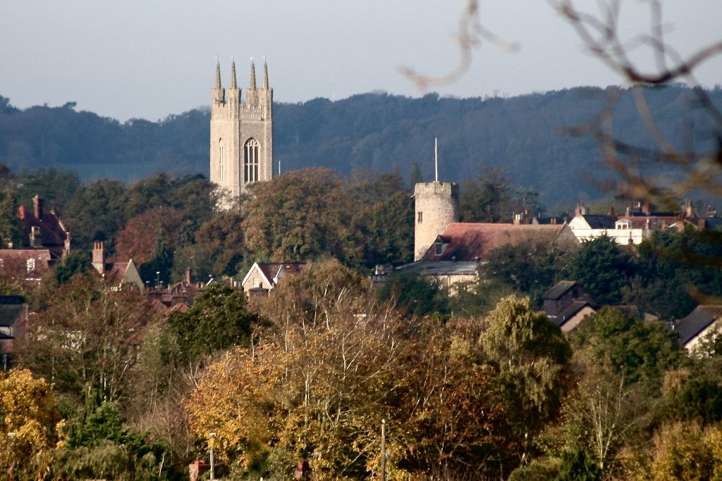 St Marys and Holy Trinity Churches, Bungay