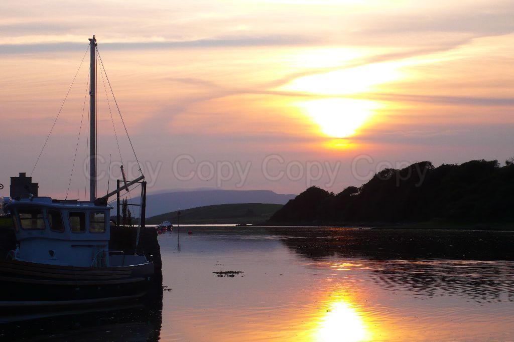 Westport Harbour Co Mayo Ireland