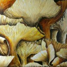 Wild Mushrooms 76x51 Acrylic