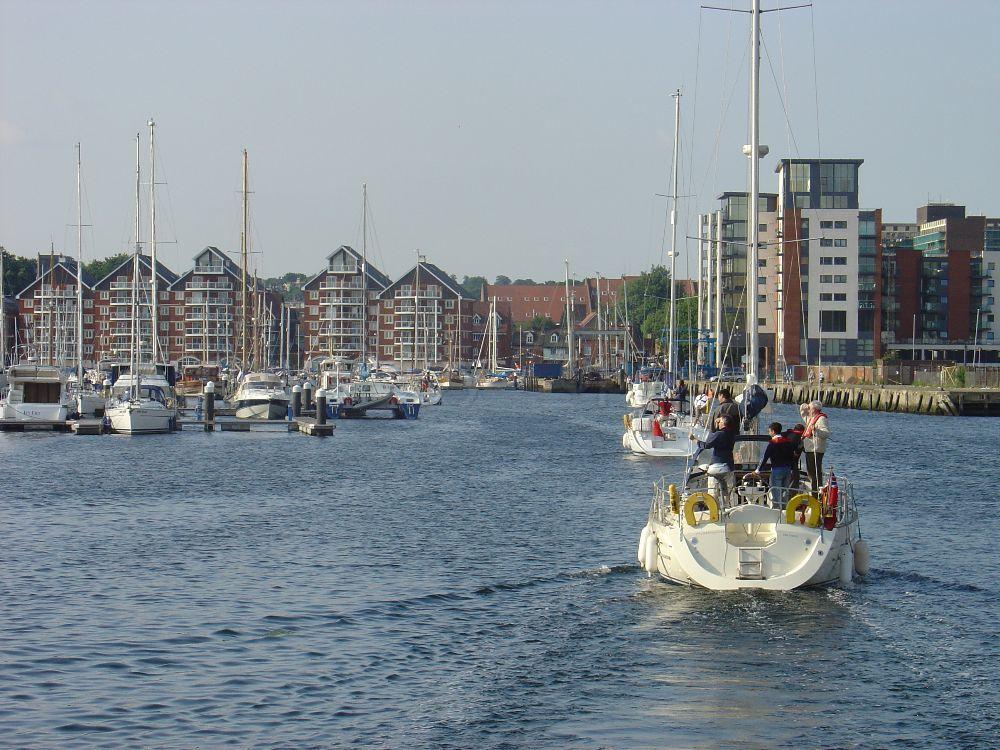Yaught Ipswich Waterfront