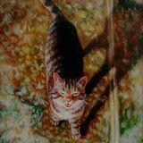 Ciao Egg Tempera on true gesso panel 2003 14.8 x 10 cm