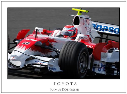 Kamui Kobayashi... Toyota
