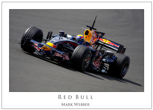 Mark Webber... Red Bull