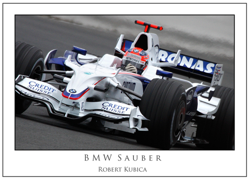 Robert Kubica... BMW Sauber