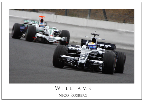 Nico Rosberg... Williams