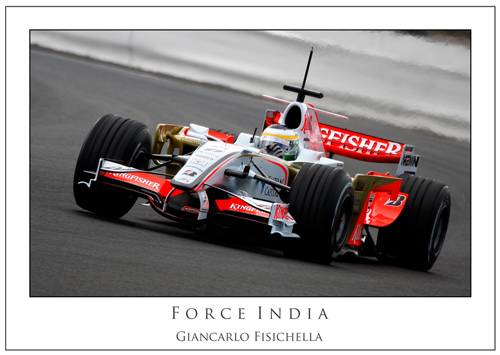 Giancarlo Fisichella... Force India