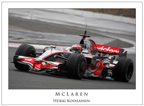 Heikki Kovalainen... McLaren