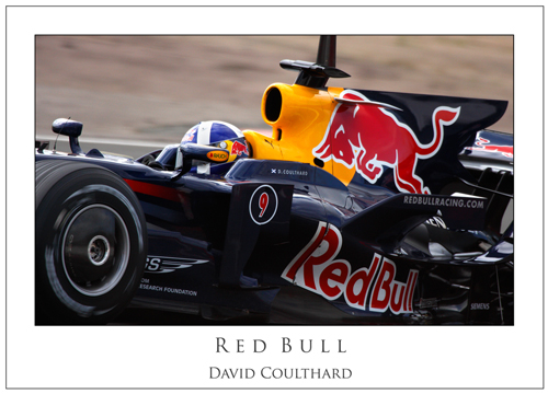 David Coulthard... Red Bull