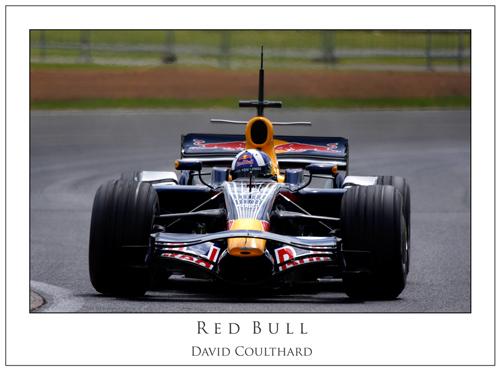 David Coulthard... Red Bull