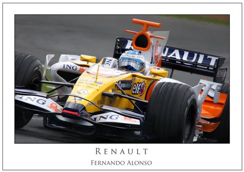 Fernando Alonso... Renault