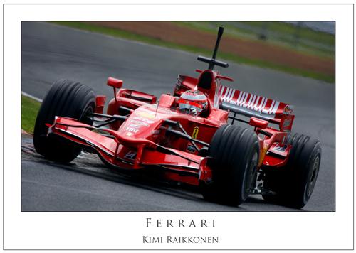 Kimi Raikkonen... Ferrari