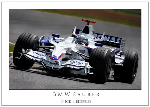 Nick Heidfeld... BMW