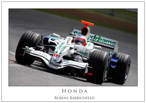 Rubens Barrichello... Honda