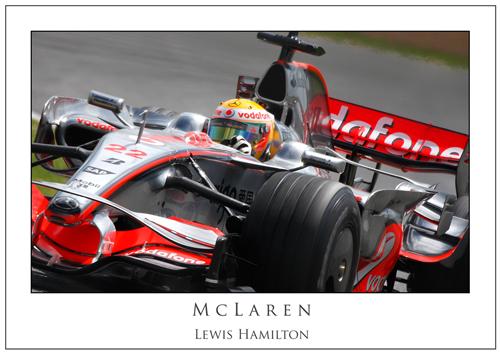 Lewis Hamilton... McLaren