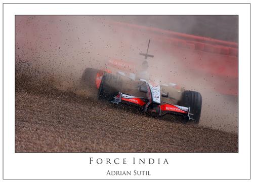Adrian Sutil... Force India