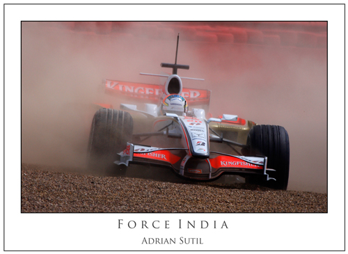 Adrian Sutil... Force India II