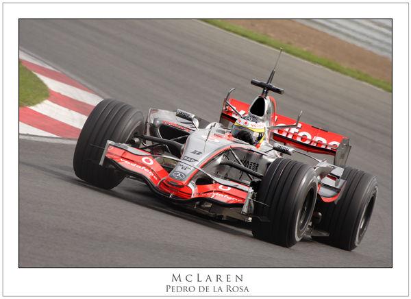 Pedro de la Rosa - McLaren