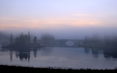 Blenheim Bridge in the Mist