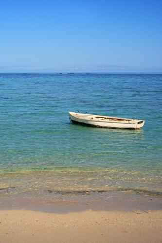 Boat on sea......