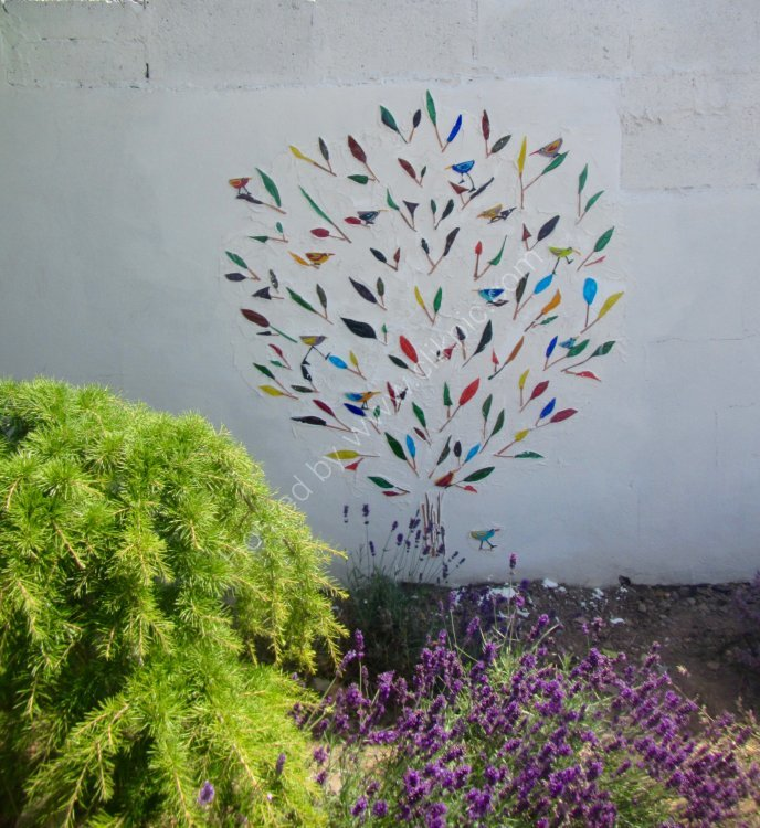 Tree Mural with Gass