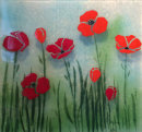 POPPY WALL PANEL (32cm x 32cm)