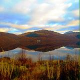 Still waters of Loch Lomond