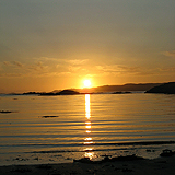 Sunset over Iona