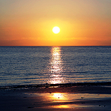 Sunset South Uist