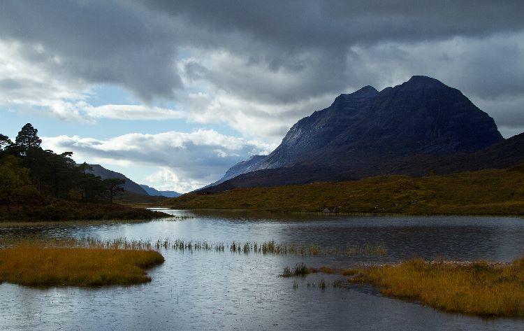 Approaching Rain Loch Clair