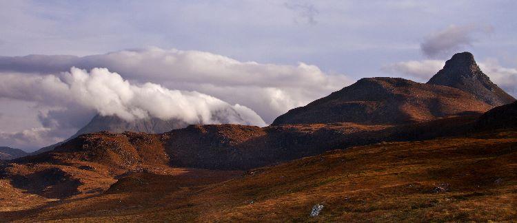 Autumn Light Inverpolly Mountains