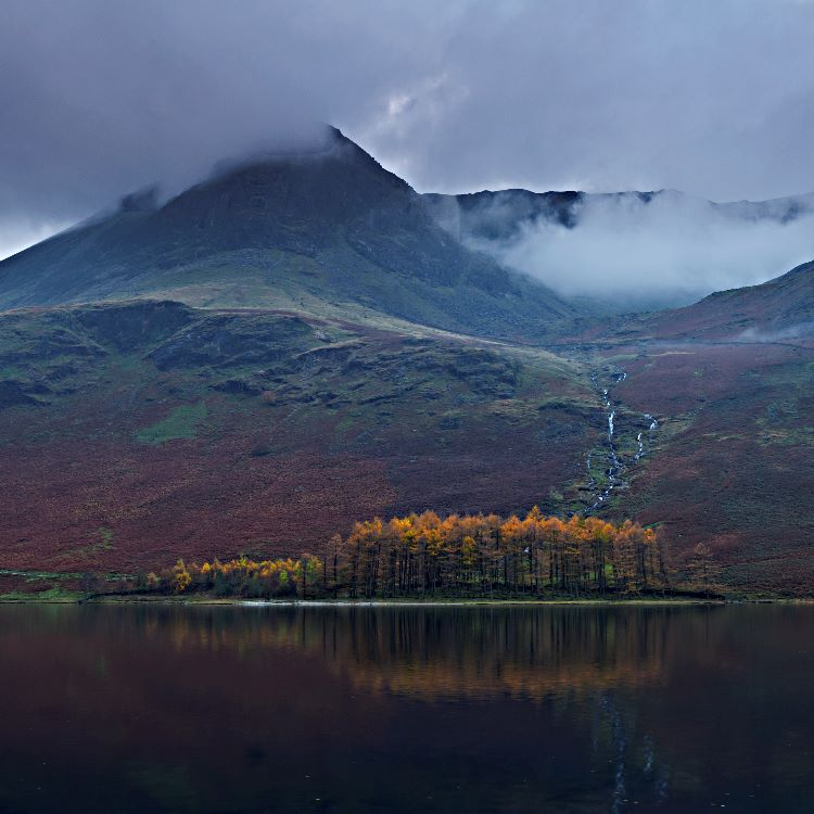 Brooding Fells Buttermere