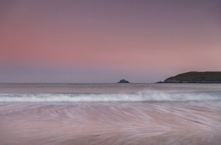 Dawn Light Crantock Bay