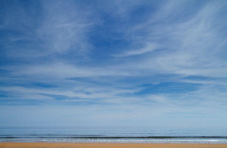 High Summer Sky Northumberland