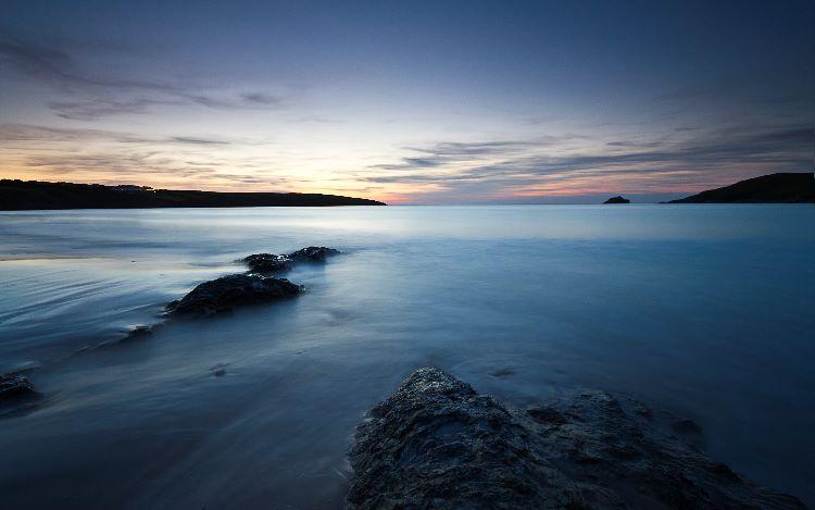 Last Light Crantock Bay
