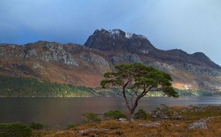 Rainbow at Loch Maree