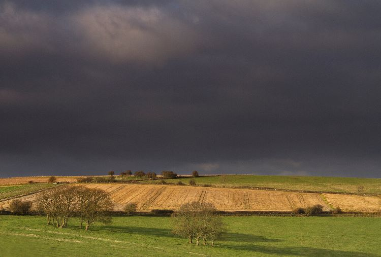 Storm Clouds The Bostal Steyning