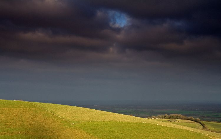 Storm Over The South Downs