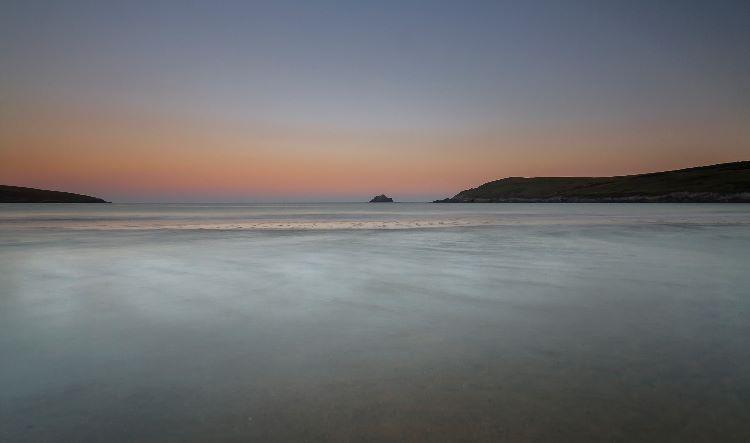 Sunrise Crantock Bay