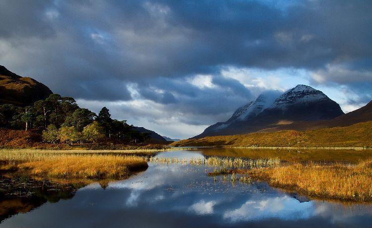 Sunrise Loch Clair