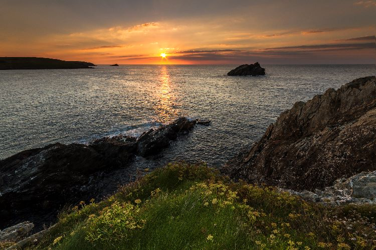 Sunset Pentire Point East