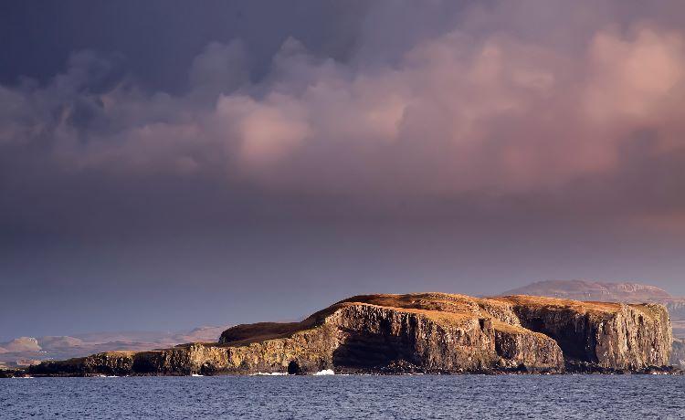 Tarner Island from Skye