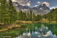 Lago Blu Cervinia (Val d'Aosta)
