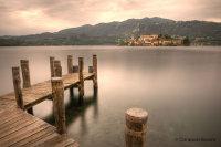 Pontile Lago Orta Isola San Giulio (Piemonte)