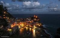 Vernazza di sera (Liguria)