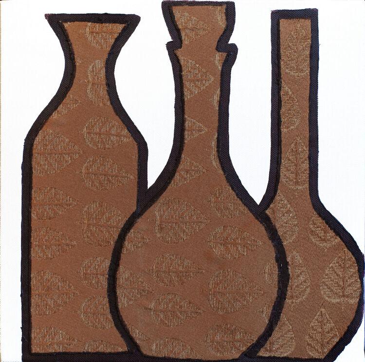 Fabrics-brown bottles