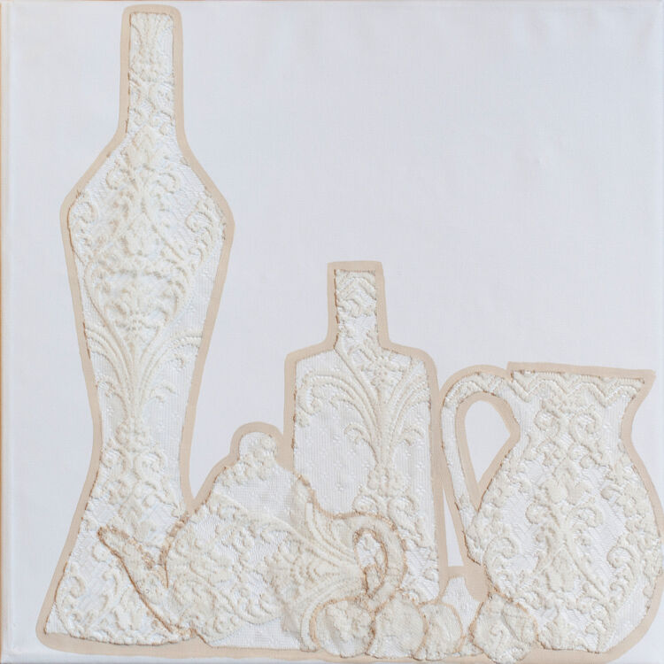 Fabrics-bottles and jugs