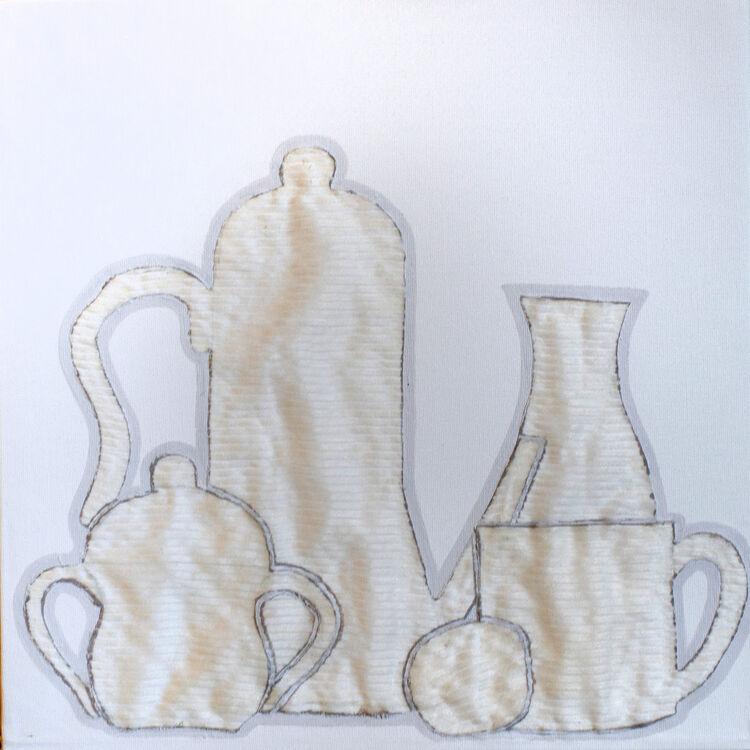 Fabrics- coffe and sugar