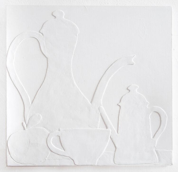 White-mela e caffe`50x50